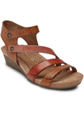[Cobb Hill by Rockport Hollywood 4-Strap Premium Leather Sandal]