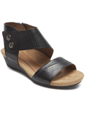 [Cobb Hill by Rockport Women's Hollywood Cuff Full Grain Leather Sandal]