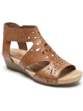 [Cobb Hill by Rockport Hollywood Hi Caged Leather Sandal]