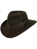 [Dorfman Pacific Men's Indiana Jones Wool Outback Hat]
