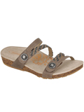[Aetrex Janey Braided Slide Sandal]