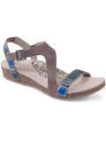 [Aetrex Jenny Adjustable Quarter Strap Sandal]