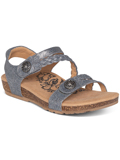 [Aetrex Jillian Braided Quarter Strap Sandal]