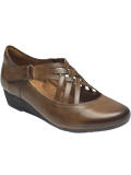[Cobb Hill by Rockport Judson XStrap Leather Shoe]