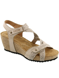 [Taos Footwear Women's Julia Woven Strap Wedge Sandal]