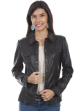 [Scully  Ladies Lamb Leather Jacket]