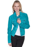 [Scully  Ladies Boar Suede Jean Jacket]