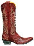 [Old Gringo� Women's Nevada Vintage Distressed Leather Cowboy Boots]