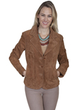 [Scully  Ladies Boar Suede Jacket]