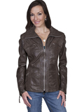 [Scully Ladies Women's Hand Finished Lamb Jacket]