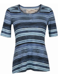 [Aventura Clothing Women's Lennox Stripe Top]