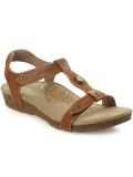 [Aetrex Lori Adjustable Quarter Strap Sandal]