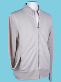 [Mod-O-Doc Men's Sueded Terry Track Jacket]