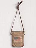 [Mona B. Flag Crossbody Handbag]