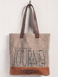 [Mona B. All About the Journey Canvas Tote Bag]