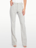 [Not Your Daughter's Jeans� Wylie Striped Linen Trouser]