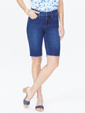 [Not Your Daughter's Jeans� Briella Denim Shorts with Fray Hem]