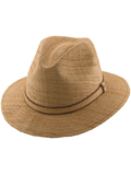 [Dorfman Pacific Men's Organic Matte Raffia Safari Hat]