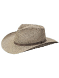 [Dorfman Pacific Men's Seagrass Outback Hat]