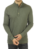 [JEREMIAH� Men's Mitch Double Face Mock Sweater]