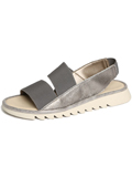 [The FLEXX� New Wave Italian Leather Sandal]