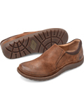 [Born� Men's Nigel Distressed Suede Slip On Shoe]