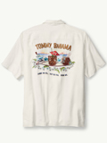 [Tommy Bahama� Men's Original Fit Shake No Evil Camp Shirt]