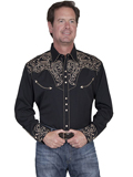[Scully Mens Men's Legends Pick Stitch Shirt]