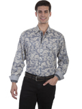 [Scully Scully Men's Signature Series Paisley Print Cotton Shirt]