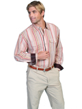 [Scully Scully Mens Signature Series Western Shirt with Contrasting Trim]