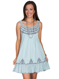 [Cantina by Scully Scully Cantina Lace Strap Dress]
