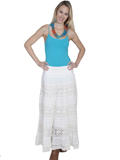 [Scully Ladies - Scully Cantina Crochet Panel Skirt]