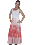 [Cantina by Scully Scully Cantina Tye Dye Panel Skirt]