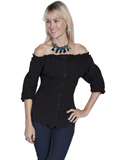 [Cantina by Scully Scully Cantina 3/4 Sleeve Off Shoulder Blouse]