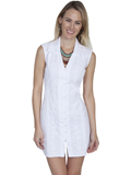 [Cantina by Scully Sleeveless Button Down Dress]
