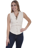 [Cantina by Scully Button Front Blouse]