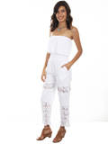 [Cantina by Scully Tube Top Romper]