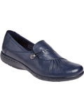 [Cobb Hill by Rockport Women's Casual Paulette Leather Slip On Shoe]