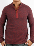 [Zenfari� Men's Perfect Day Half Zip Sweater]
