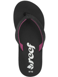 [Reef Kid's Little Krystal Star Wedge Thong Sandal]