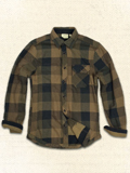 [JEREMIAH� Men's Rory Reversible Twill Shirt/Jacket]