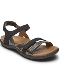 [Cobb Hill by Rockport Rubey 3-Strap Leather Sandal]