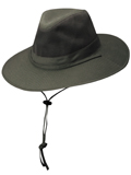 [Dorfman Pacific Men's Solarweave� Treated Cotton Safari Wrangle Hat]