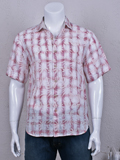 [Tommy Bahama� Plaid in Paradise Linen Shirt]