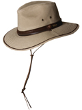 [Dorfman Pacific Men's Stetson Twill Safari Hat]