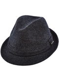 [Dorfman Pacific Men's Stetson Wool Fedora]