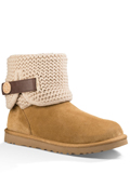[UGG� Footwear Women's Shaina Suede and Knit Boot]