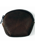 [Victoria Leather Shell Zip Top Coin Purse]