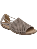 [Earth� Footwear Shelly Perforated Sandal]