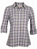 [Aventura Clothing Women's Sheridan Organic Cotton Plaid Top]